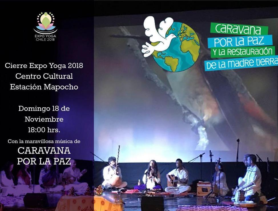 18 de Noviembre / Kirtan en ExpoYoga
