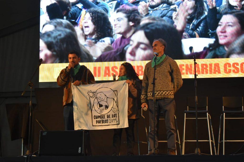 Primer informe. Cumbre social por el clima, Madrid.